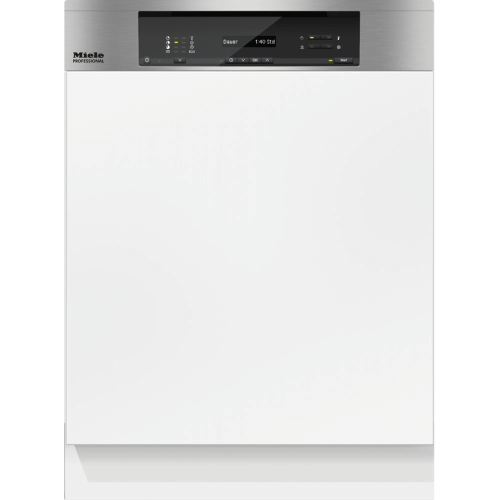 Miele - PG 8130 i [120V 60HZ 15A] - Integrated dishwasher ADA compliant, for large loads of dishware in office kitchens and utility areas.