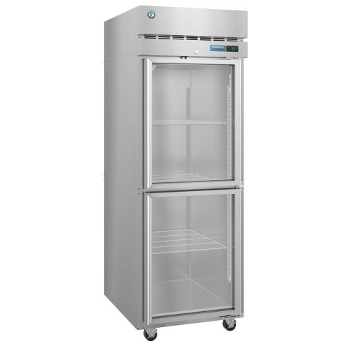 R1A-HG, Refrigerator, Single Section Upright, Stainless Door with Lock