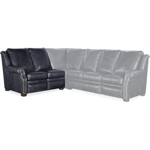 Bradington Young Pauley LAF Loveseat Recline At Arm w/Articulating Headrest 942-55