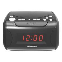 USB-Charging CD Dual Alarm Clock Radio