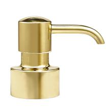 View Product - Pump Top - Unplated Brass with Pump Top - Unplated Brass