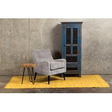 See Details - Kristina Cement Gray Accent Chair, AC192
