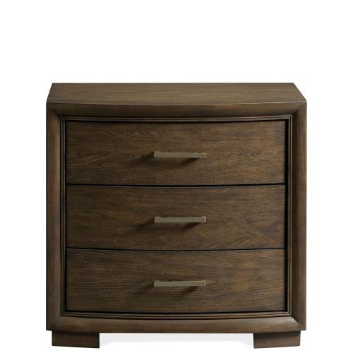 Monterey - Three Drawer Nightstand - Mink Finish