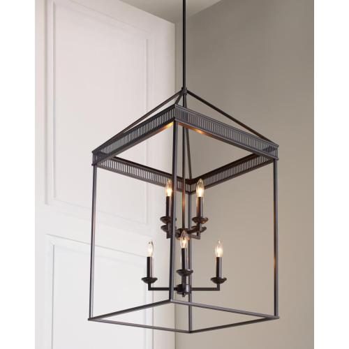 Woodruff Small Lantern Antique Bronze