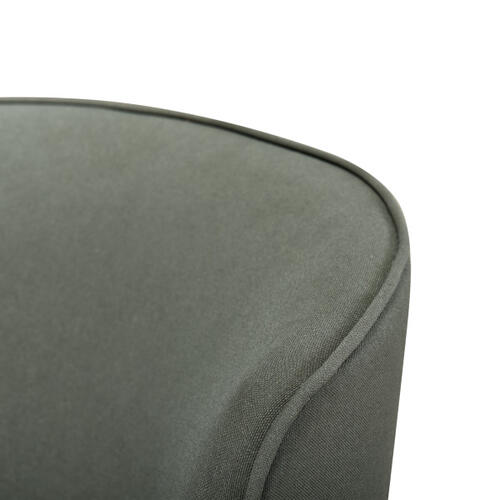 Curved Back Modern Chair - Breeze Army