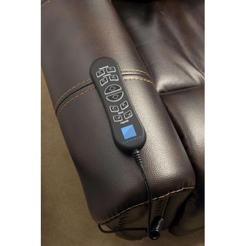 Flexsteel - Oscar Power Lift Recliner with Power Headrest and Lumbar