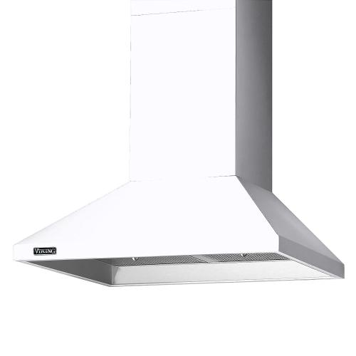 "30"" Wide Chimney Wall Hood + Ventilator - RVCH Viking Product Line"