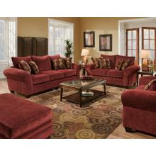 Masterpiece Burgundy Loveseat