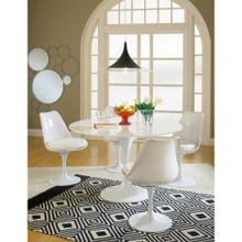 Lippa Dining Fabric Side Chair in White