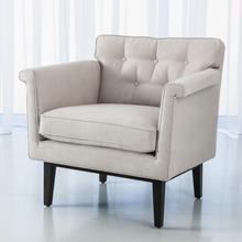 Emerywood Chair-Suede-Arctic