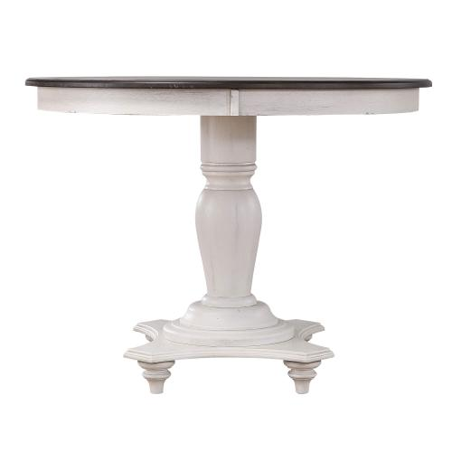 French Chic Round Dining/Cafe Height Table