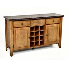 Debby Bluestone Wine Rack/Server