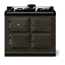 """See Details - AGA classic 39"""" Dual Control Electric-Only Model, Pewter"""