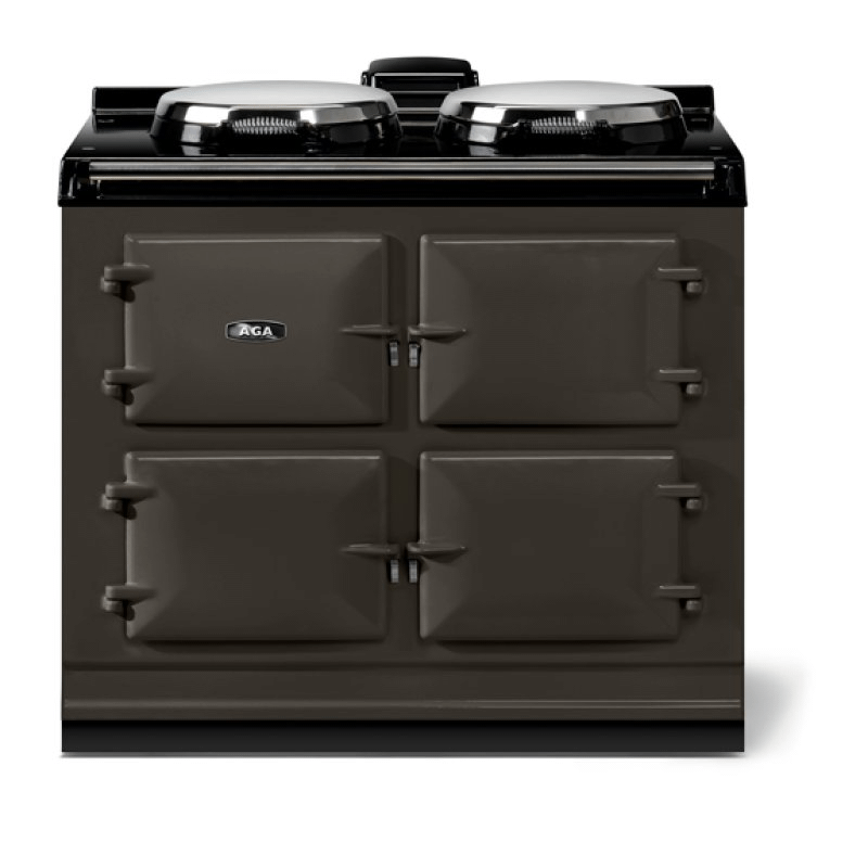 """AGA classic 39"""" Dual Control Electric-Only Model, Pewter"""