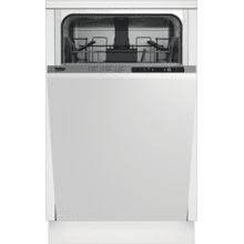 Slim Size Dishwasher, 8 place settings, 48 dBa, Fully Integrated Panel Ready