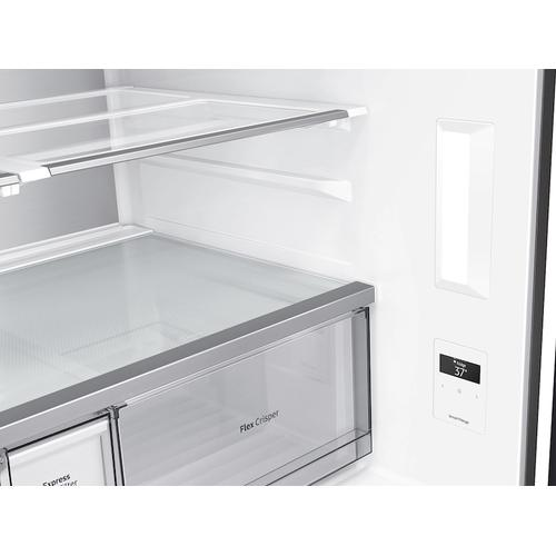 Product Image - 23 cu. ft. Smart Counter Depth BESPOKE 4-Door Fle Refrigerator with Customizable Panel Colors featuring a Limited Edition Design