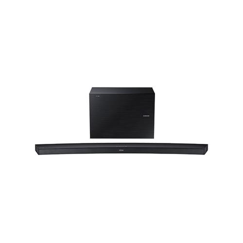 Samsung - HW-J7500R Curved Soundbar W/ Wireless Subwoofer