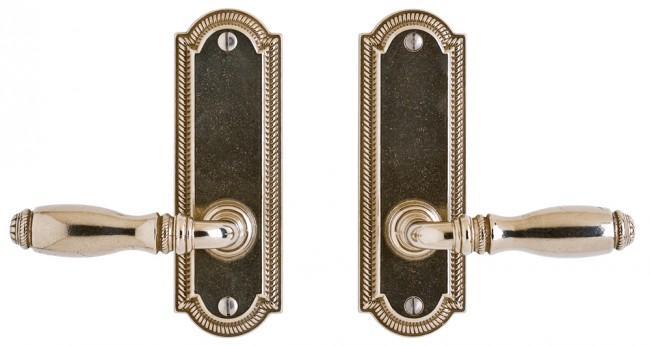 """Ellis Screen Door Hardware - 2"""" x 6"""" Silicon Bronze Brushed"""