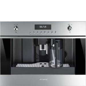 60 Cm (Approx. 24''), Fully-Automatic Coffee Machine With Milk Frother Fingerprint-Proof Stainless Steel -