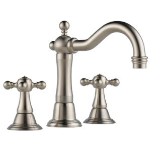 Widespread Lavatory Faucet With Cross Handles Product Image
