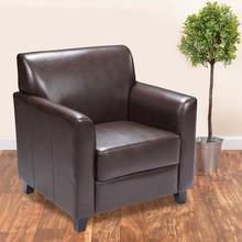HERCULES Diplomat Series Brown LeatherSoft Chair