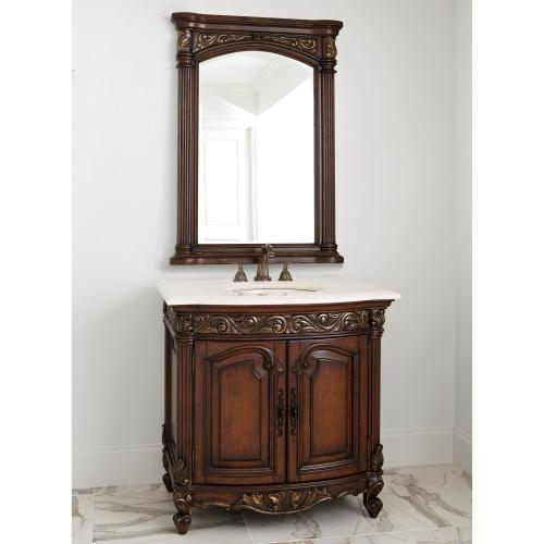 Provincial Petite Sink Chest - Dark