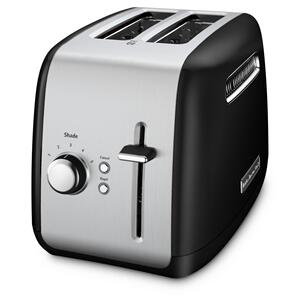 2-Slice Toaster with manual lift lever - Onyx Black - ONYX BLACK
