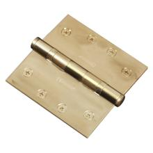 """See Details - Functional SQ Ball Bearing Hinge, 4"""" Solid Brass"""