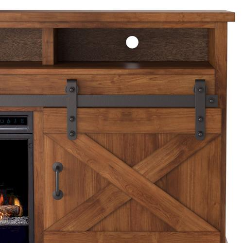 "Farmhouse 94"" Fireplace Console"