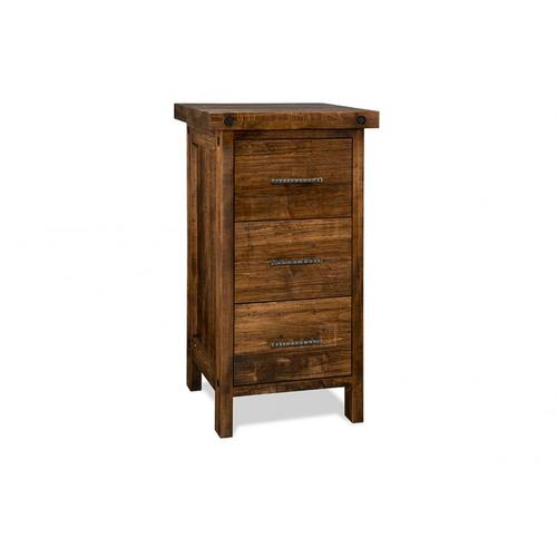 Rafters 3 Drawer File Cabinet