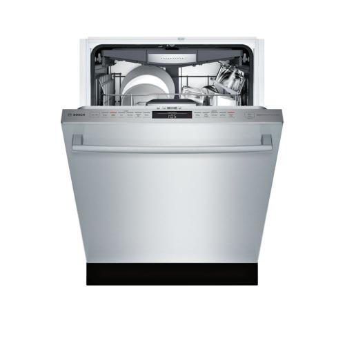800 Series built-under dishwasher 24'' Stainless steel SHXM78W55N (This may be a Stock Photo, actual unit (s) appearance may contain cosmetic blemishes. Please call store if you would like additional pictures). This unit carries our 6 Month warranty, MANUFACTURER WARRANTY and REBATE NOT VALID with this item. ISI 37564 W