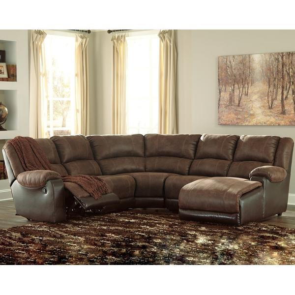 Nantahala 5-piece Reclining Sectional With Chaise