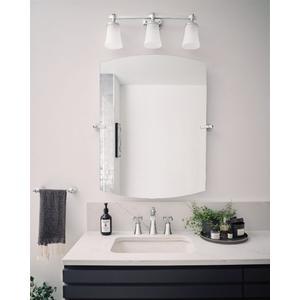 Flara chrome bath light
