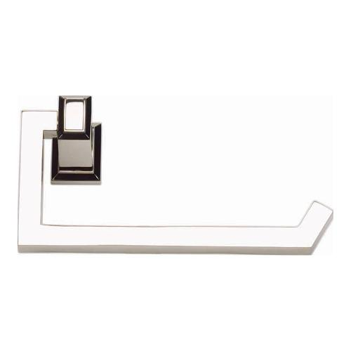 Sutton Place Bath Tissue Hook - Polished Nickel