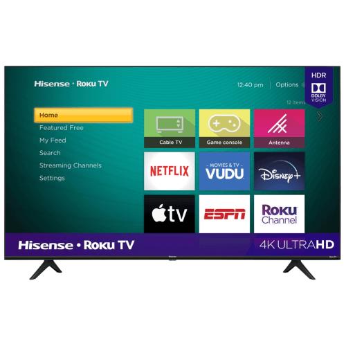 "50"" Class - R6 Series - 4K UHD Hisense Roku TV with HDR (2020)"