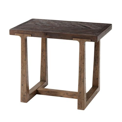 Stafford Accent Table, Dark Echo Oak