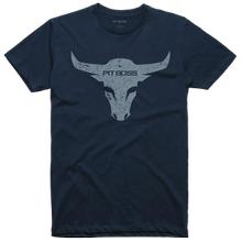 Men's Midnight Navy Bull T-Shirt