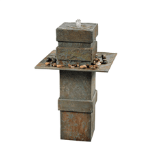 See Details - Pilaster - Outdoor Floor Fountain