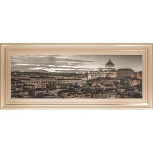 """Bella Roma"" By Frank Assaf Framed Print Wall Art"