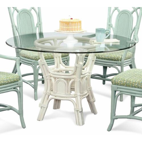 """Bay Walk 42"""" Round Dining Table with Bevel"""