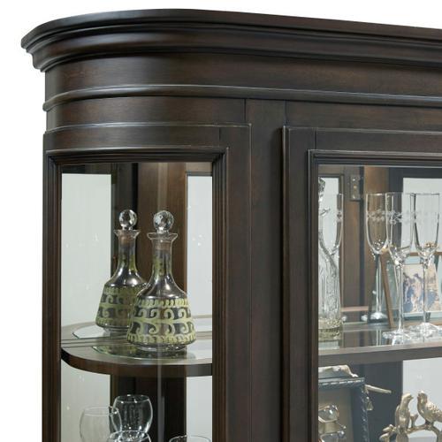 Pulaski Furniture - Curio in Espresso
