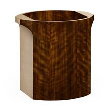 Cosmo waste basket ivory colour