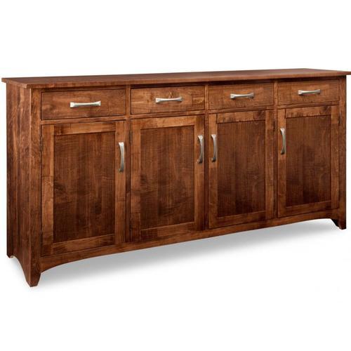 - Glengarry Sideboard w/4 Wood Doors & 4/Drws & 3/Wood Adjust.