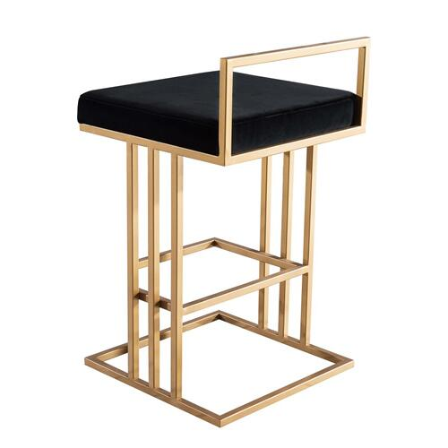 Product Image - Trevi Black Counter Stool