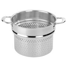 Demeyere Atlantis 7-Ply 8-qt Stainless Steel Pasta Insert (Fits 8.5-qt Stock Pot)