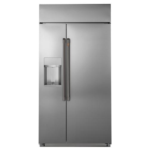 Cafe - Café™ Refrigeration Handle Kit - Brushed Black