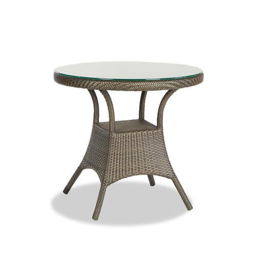 "Ratana - Palm Harbor 32"" Rd Dining Table w/Clear Glass"