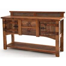 See Details - Heritage Bear Creek 2 Door 2 Drawer Server With Shelf