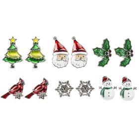 Matchbox Earrings Ornaments (18 pr. ppk.)