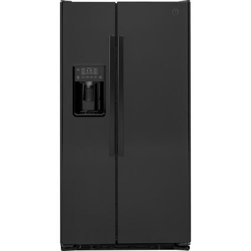 GE Appliances - GE® 21.9 Cu. Ft. Counter-Depth Side-By-Side Refrigerator